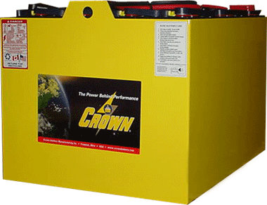 crown battery industrial batteries