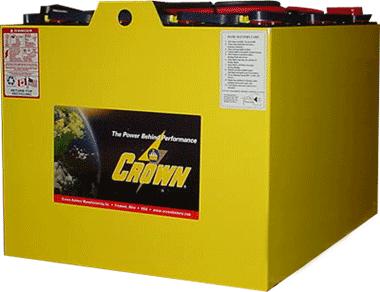crown battery industrial batteries